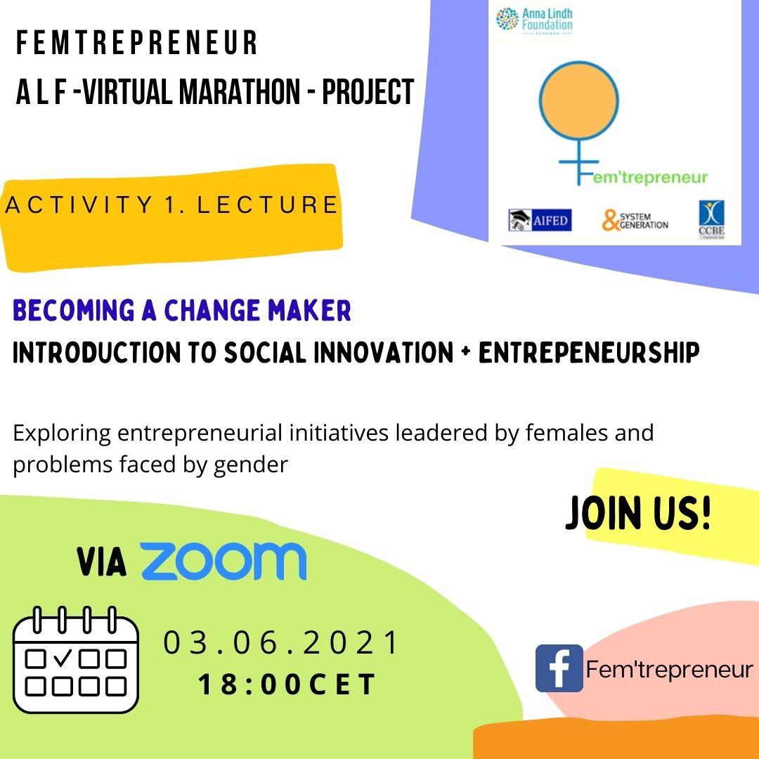 Social Entrepreneurship to empower Young Women (Fem'trepreneur)